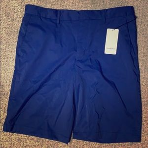 Blue tech shorts (golf style) very comfortable